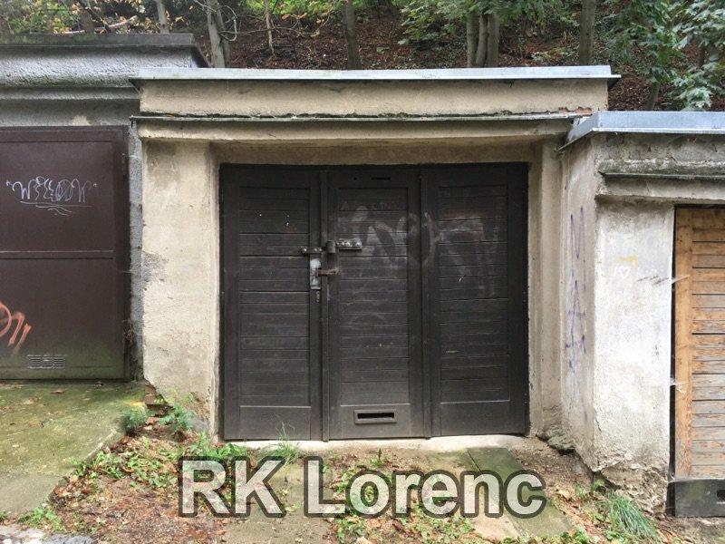 Pronájem garáže na ul.Zeleného - Žabovřesky