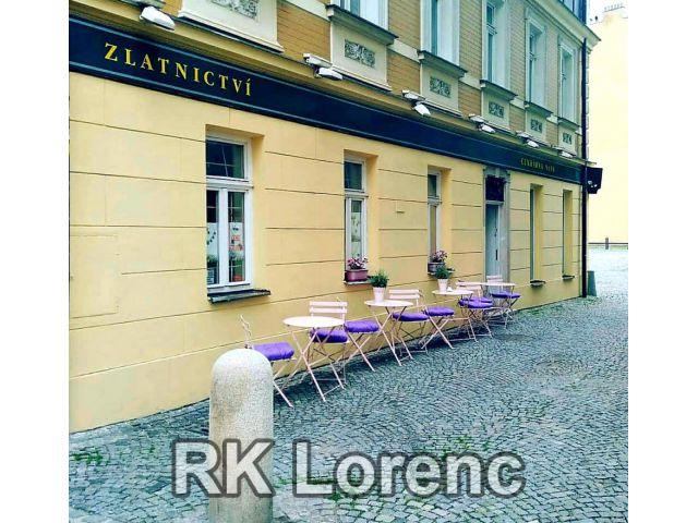 Pronájem prostoru na rohu ulice Josefská a Františkánská - centrum